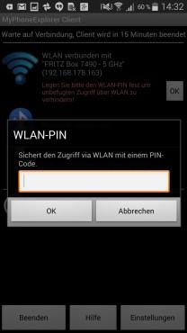 Schritt 10: PIN für die WLAN-Verbindung vergeben ©COMPUTER BILD