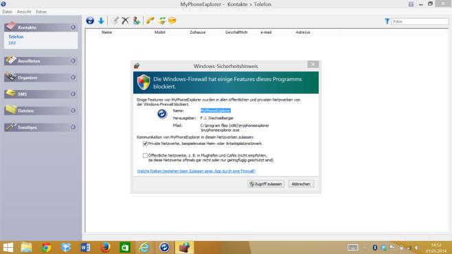 Schritt 6: Firewall freigeben ©COMPUTER BILD