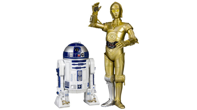 Star Wars C-3PO & R2-D2 1/10 Scale Art FX Statue © Amazon