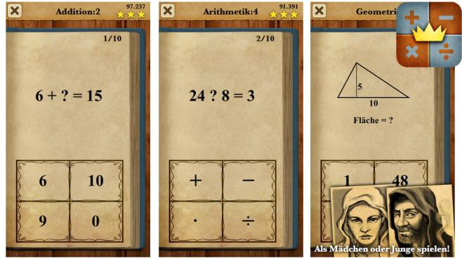 König der Mathematik ©Oddrobo Software AB