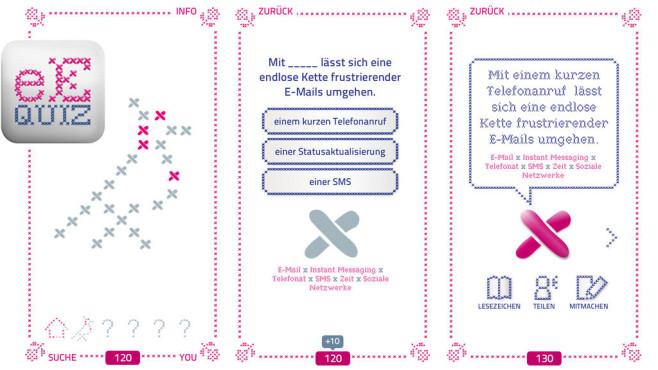eEtiquette Quiz – 101 Leitlinien für die digitale Welt ©Deutsche Telekom