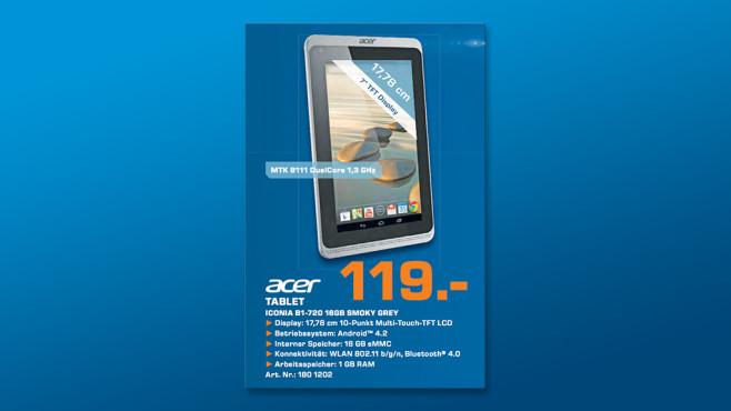 Acer Iconia B1-720 ©Saturn