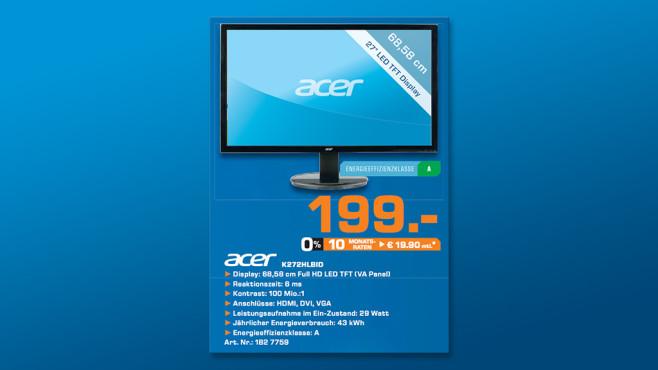 Acer K272HLbid ©Saturn