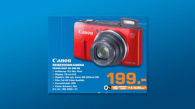 Canon PowerShot SX280 ©Saturn