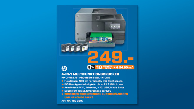 HP OFFICE JET PRO 8620 E-AIO © Saturn