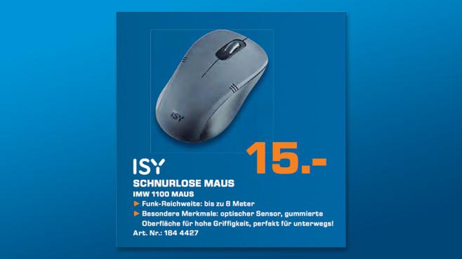 ISY Funkmaus IMW 1100 ©Saturn