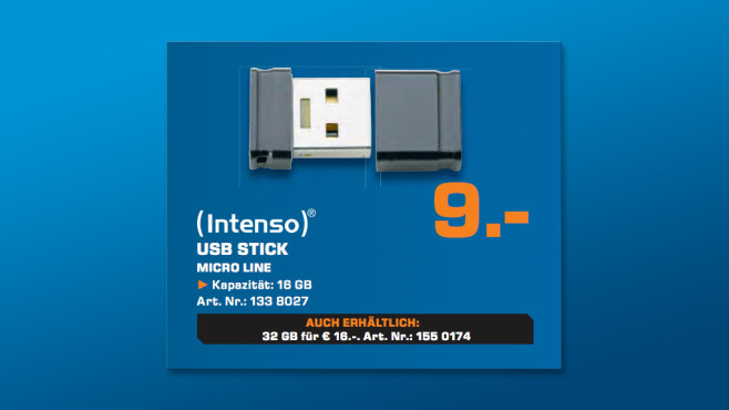 Intenso Micro Line 16 GB © Saturn
