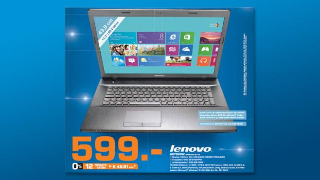 Lenovo G710 59412675 ©Saturn
