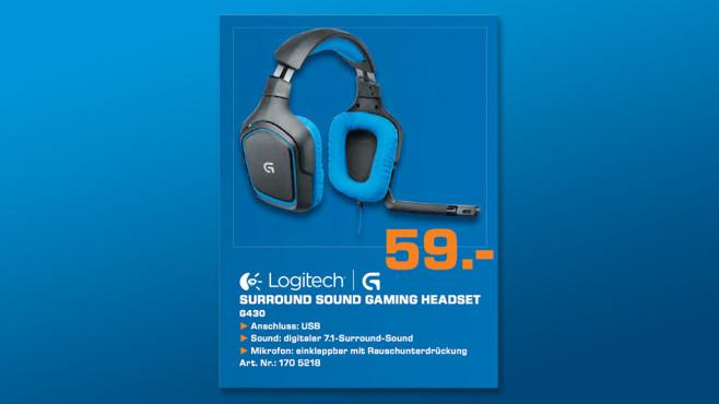 Logitech G430 (981-000537) ©Saturn