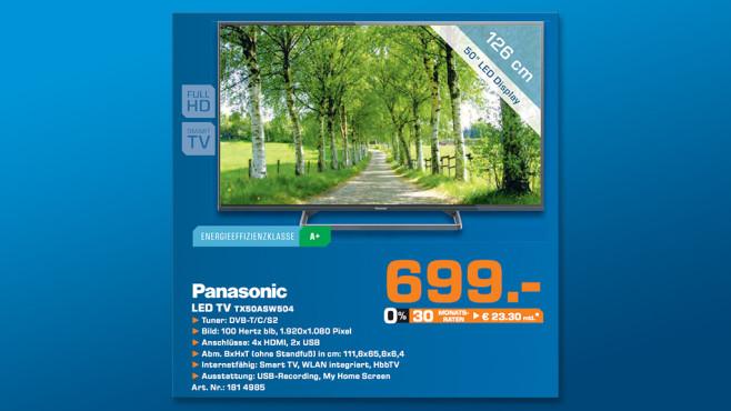 Panasonic TX-50ASW504 ©Saturn