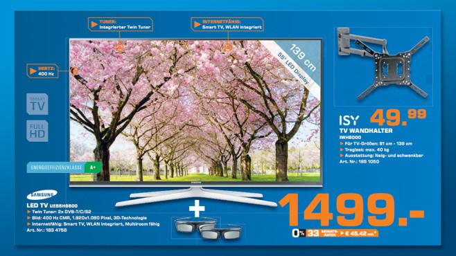 Samsung UE55H6600 ©Saturn