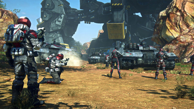Planetside 2: Soldaten © Sony Online Entertainment