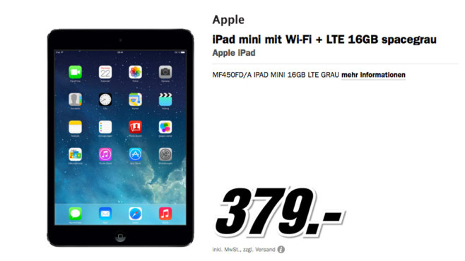 media markt ipad mini. Black Bedroom Furniture Sets. Home Design Ideas