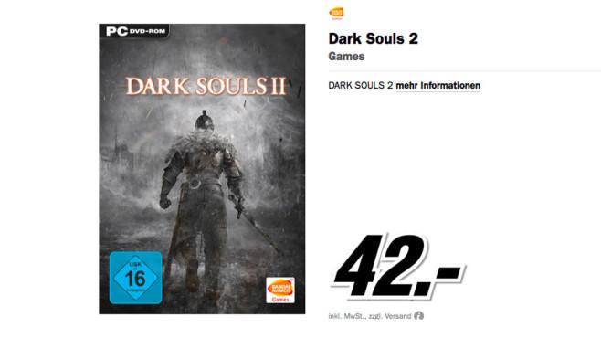 Dark Souls 2 ©Media Markt