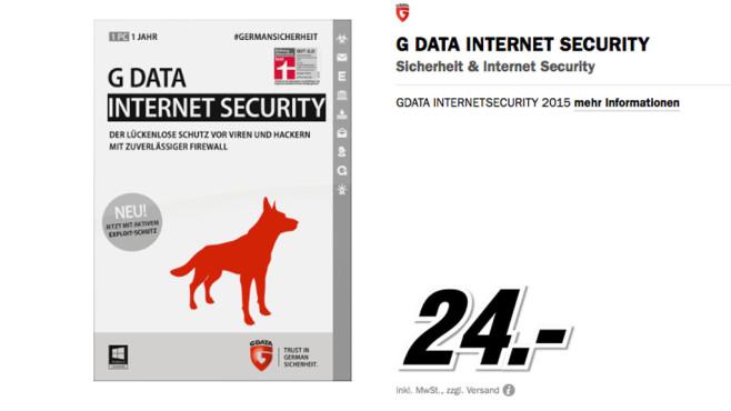 G Data Internet Security 2015 ©Media Markt