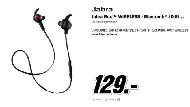 Jabra Rox Wireless ©Media Markt