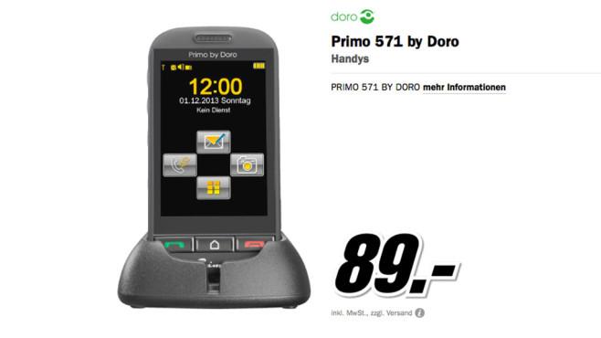 Primo 571 by Doro ©Media Markt