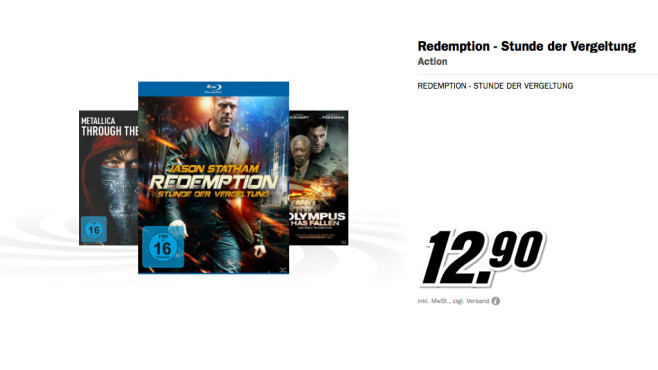 Redemption – Stunde der Vergeltung ©Media Markt