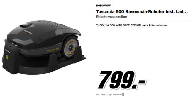 Robomow Tuscania 500 ©Media Markt