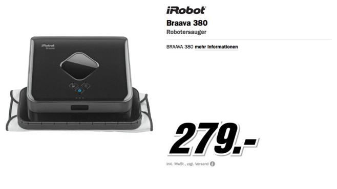 iRobot Braava 380 ©Media Markt