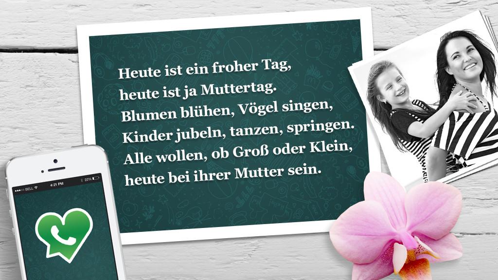 Muttertag: Die Lustigsten Und Schönsten WhatsApp Sprüche   Bilder,  Screenshots   COMPUTER BILD