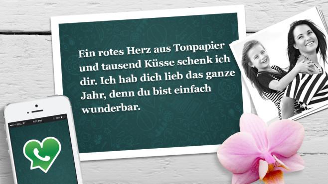 Muttertag: Die lustigsten und schönsten WhatsApp-Sprüche ©WhatsApp, Alena Ozerova - Fotolia.com, Apple