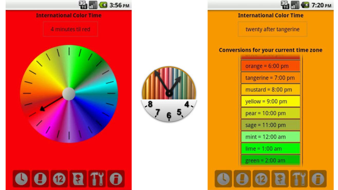 Color Time Clock © Phrenopolis