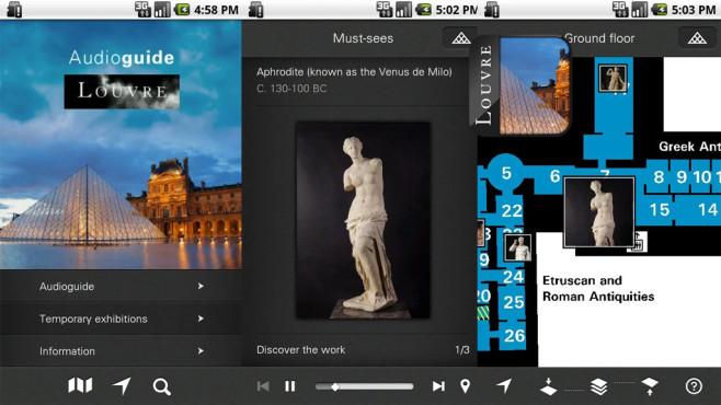 Louvre Audioguide ©Musée du Louvre