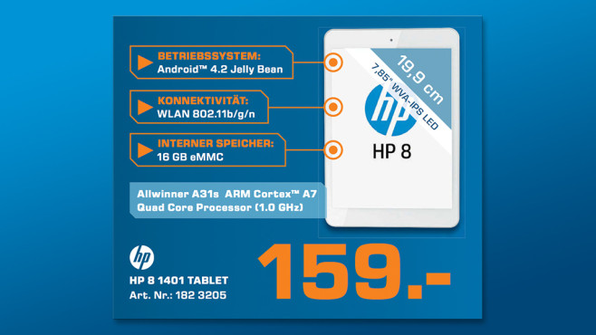 Hewlett-Packard HP 8 1401 © Saturn