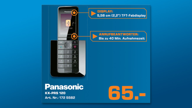 Panasonic KX-PRS 120 © Saturn