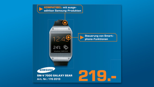 Samsung Galaxy Gear © Saturn