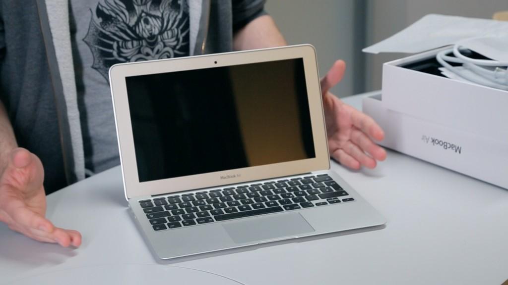 unboxing das apple macbook air 2014 computer bild. Black Bedroom Furniture Sets. Home Design Ideas
