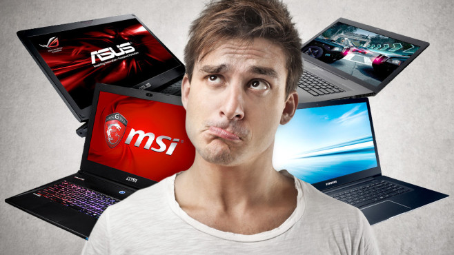 Notebook-Kaufberatung © MSI, Samsung,Asus,Medion, olly - Fotolia.com