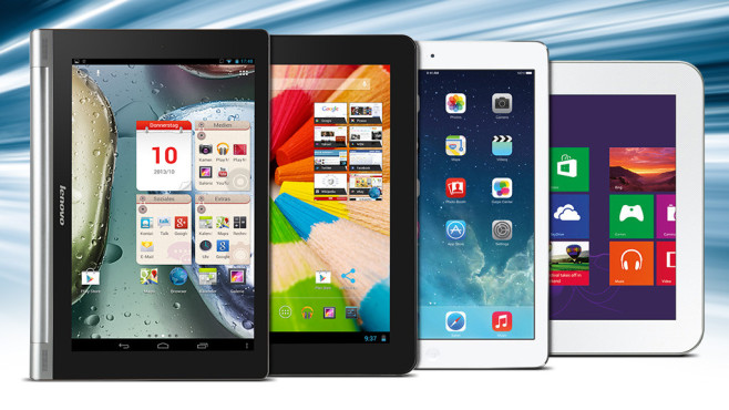 Tablet: Alternativen © Lenovo, Google, Apple, Samsung