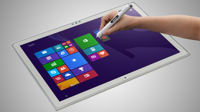 Tablet f�r 7.000 Euro © Panasonic