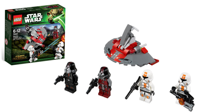 Lego Star Wars - Republic Troopers vs. Sith Troopers © Lego