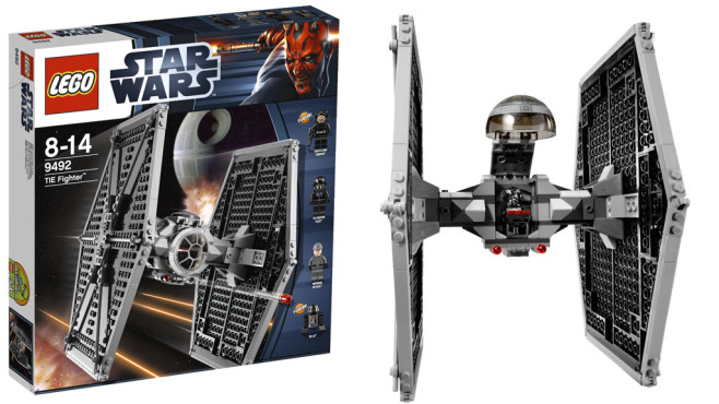 Lego Star Wars TIE Fighter © Lego