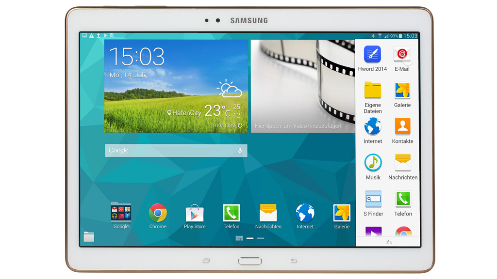 Samsung Galaxy Tab S 10.5: Test des AMOLED-Tablets ...