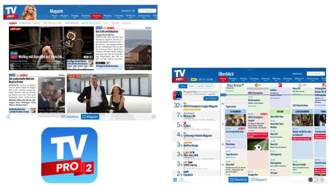 TV Pro 2 ©Live TV GmbH
