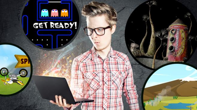 Loszocken! Die 100 besten Flash-Games ©lassedesignen � Fotolia.com