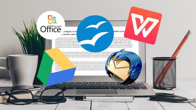 Kostenloser Ersatz für Microsoft Office ©Microsoft, Mozilla, fotofabrika-Fotolia.com