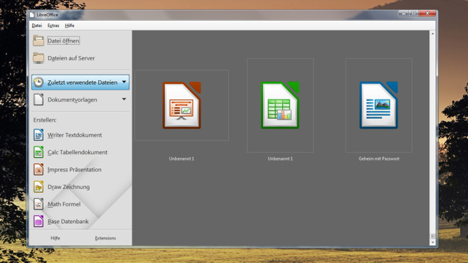 LibreOffice: OpenOffice-Klon mit vielen Funktionen ©COMPUTER BILD