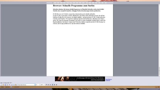 Write-a-Document: Schreibtool mit guten Automatiken ©COMPUTER BILD