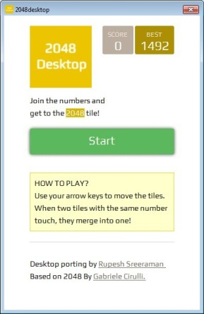 2048 Desktop