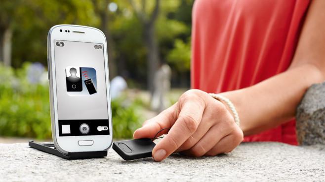 Fernauslöser für Smartphones ©Tchibo