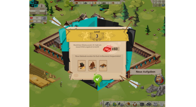 Goodgame Empire: Level-up © Goodgame Studios