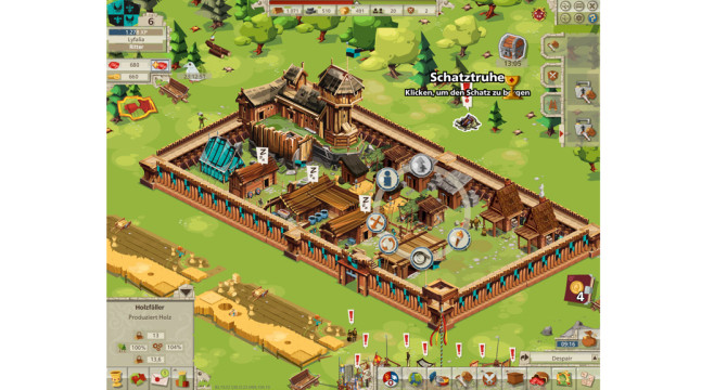 Goodgame Empire: Sch�tze finden © Goodgame Studios
