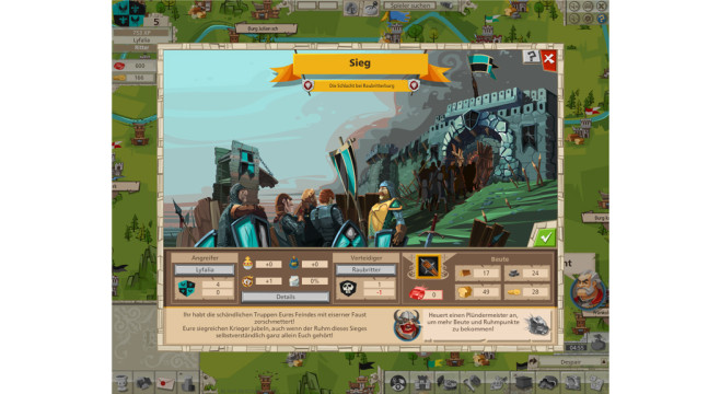 Goodgame Empire: Sieg © Goodgame Studios