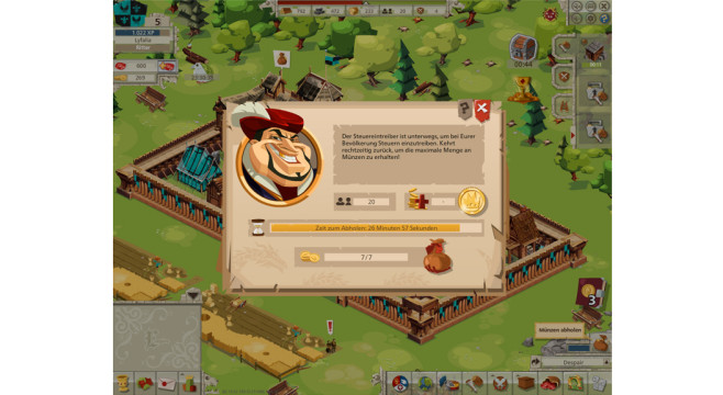 Goodgame Empire: Steuern © Goodgame Studios