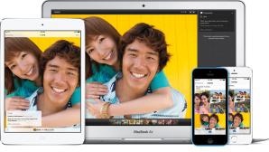 Apple iCloud auf iPhone, iPad und Macbook Air ©Apple